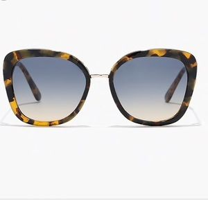 "J Crew NWT ""square sunglasses"""
